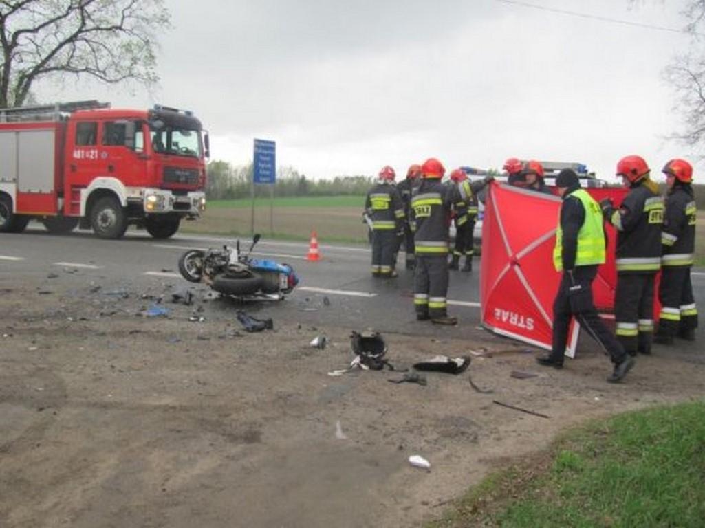 Kolejny śmiertelny wypadek motocyklisty!
