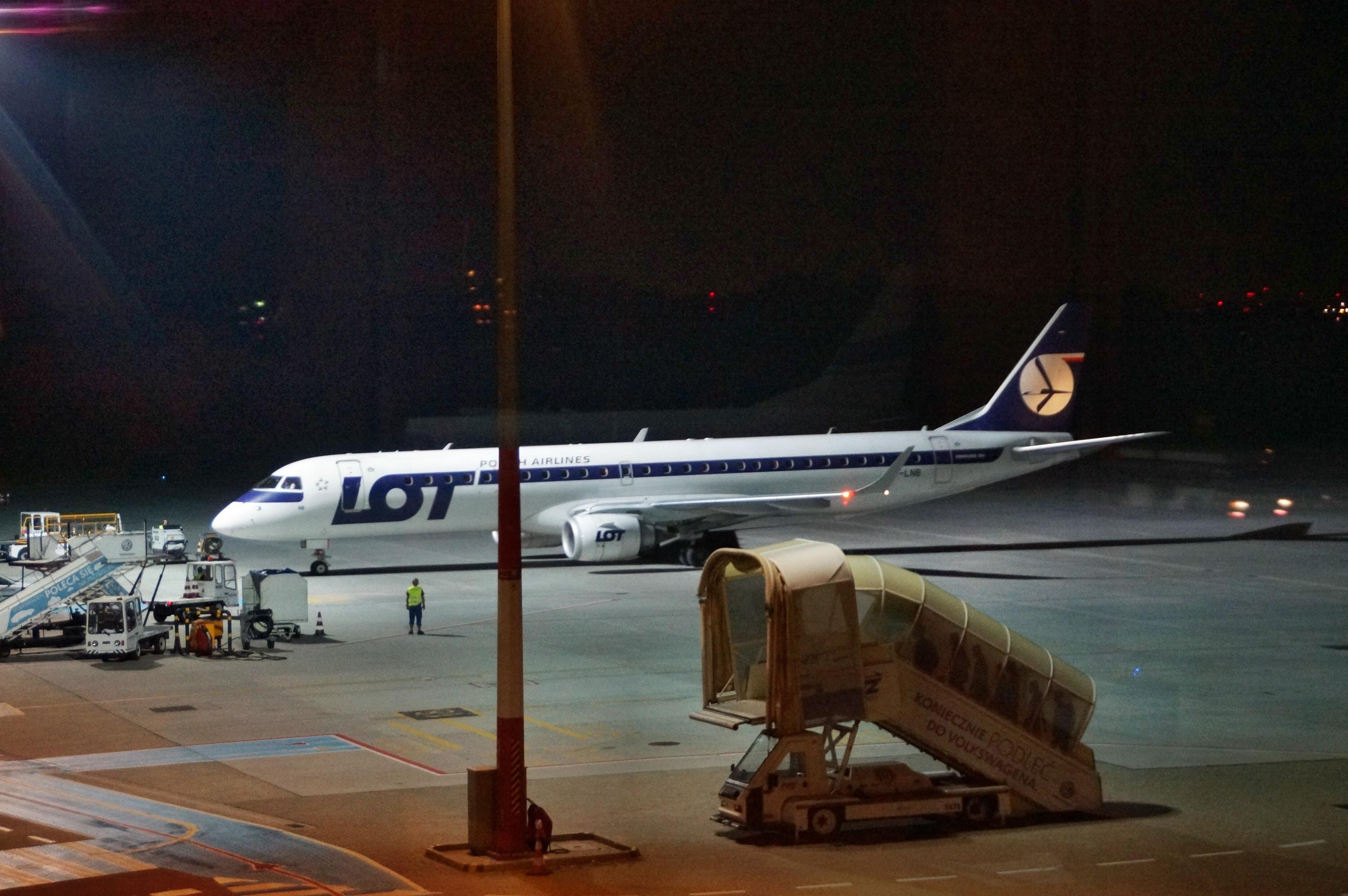 Obywatel Stanów Zjednoczonych zatrzymany na lotnisku w Poznaniu-Ławicy