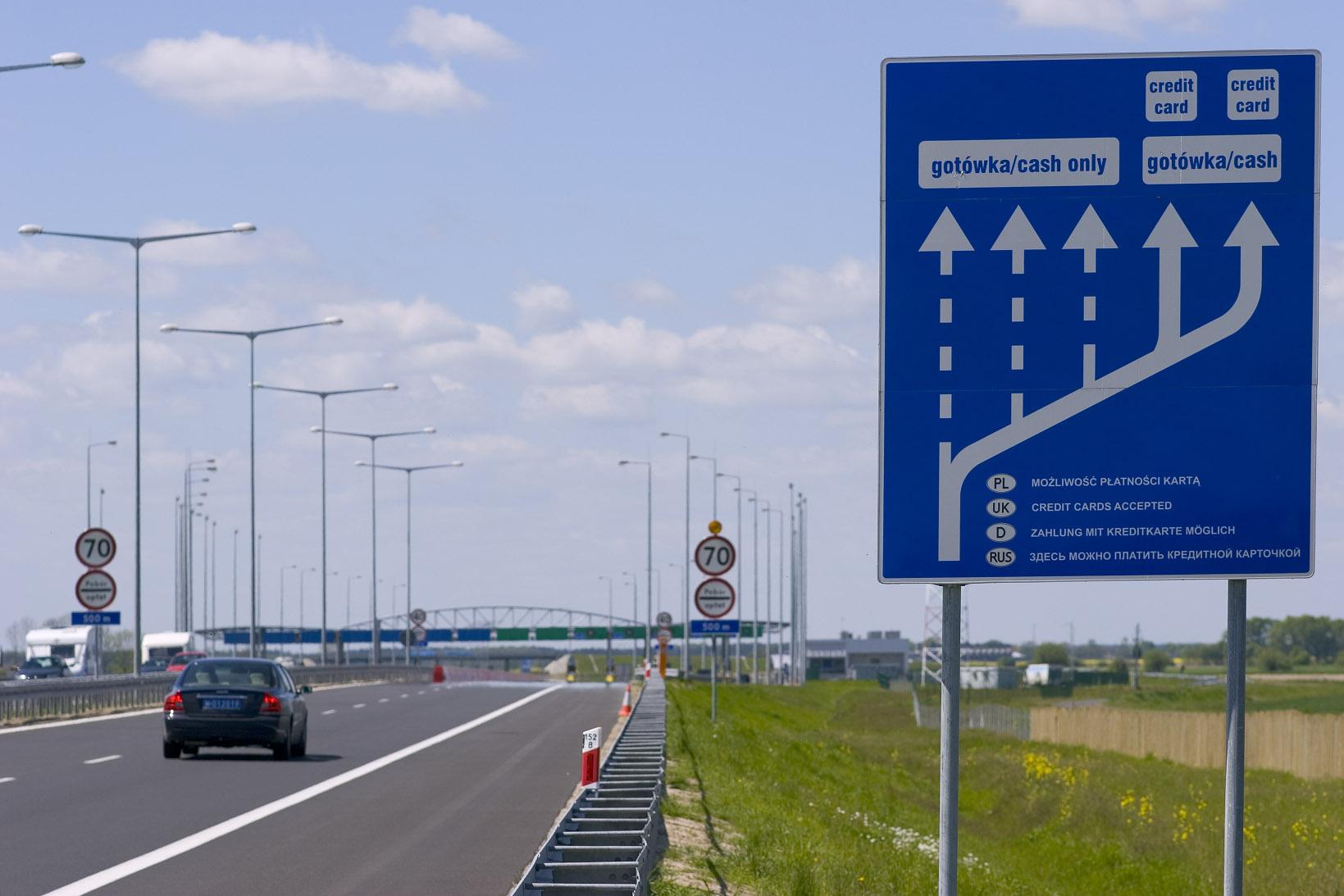 Uwaga ! Od 2 stycznia 2018 roku zmianie ulegają stawki opłat za przejazd płatnymi odcinkami autostrady A2 Nowy Tomyśl – Konin