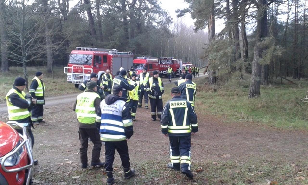 Ponad 100 ratowników, 7 psów, quad,dron - Zakrojona na szeroką skalę akcja poszukiwawcza nie przyniosła oczekiwanych efektów