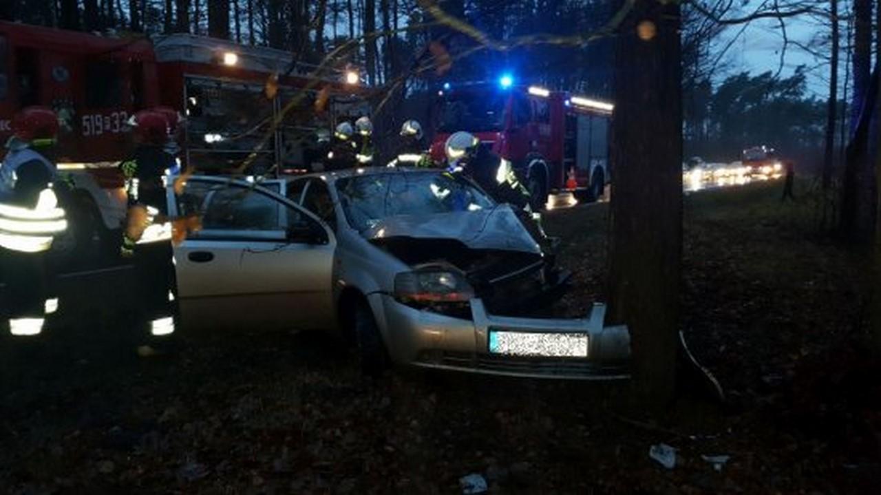 Nowy Tomyśl - Kolejny wypadek na niebezpiecznym zakręcie