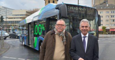 Solaris dostarczy 5 autobusów elektrycznych do Frankfurtu