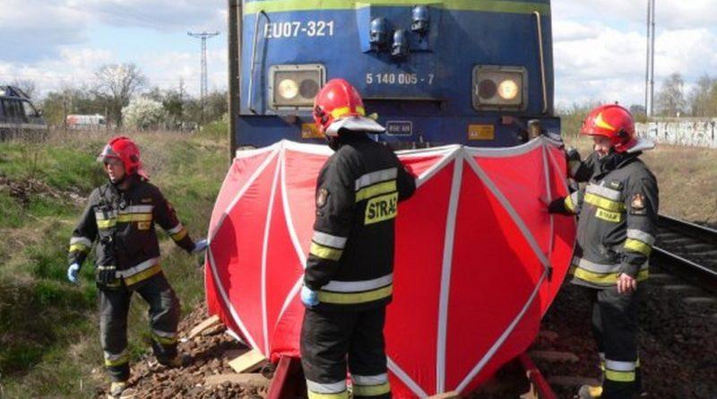 Śmierć na torach ! Nie żyje kobieta ! Ruch kolejowy na trasie został wstrzymany