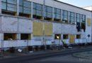 Termomodernizacja hali sportowej w Nowym Tomyślu trwa. Jaki jest postęp prac? [ZDJĘCIA, FILM]