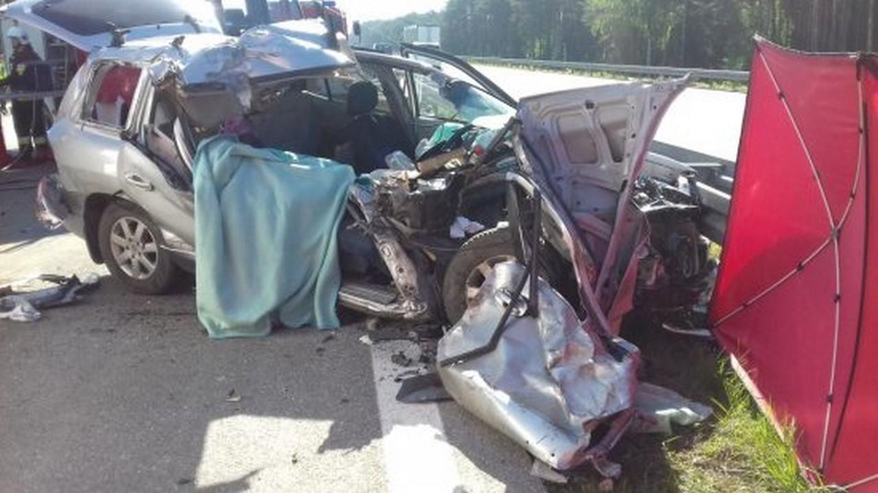 Nowy Tomyśl - Śmiertelny wypadek na 94 kilometrze autostrady A2