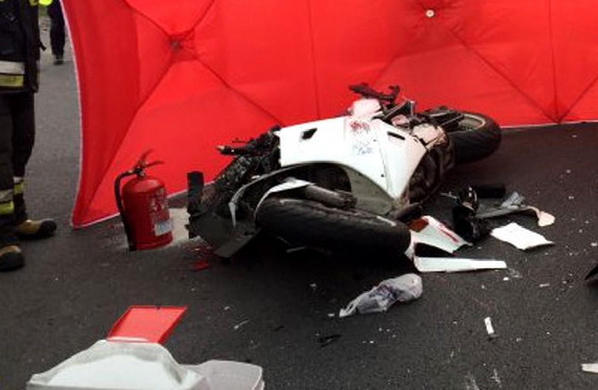 Nowy Tomyśl - Śmierć motocyklisty ! Nie żyje 32-letni mężczyzna, zginął na miejscu !