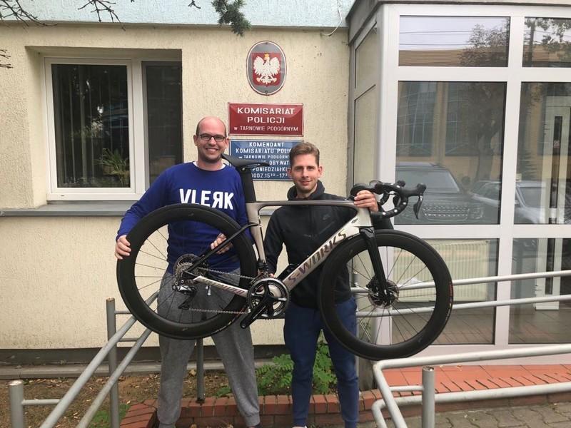 Rower o wartości 12.500 euro odzyskany przez poznańskich policjantów
