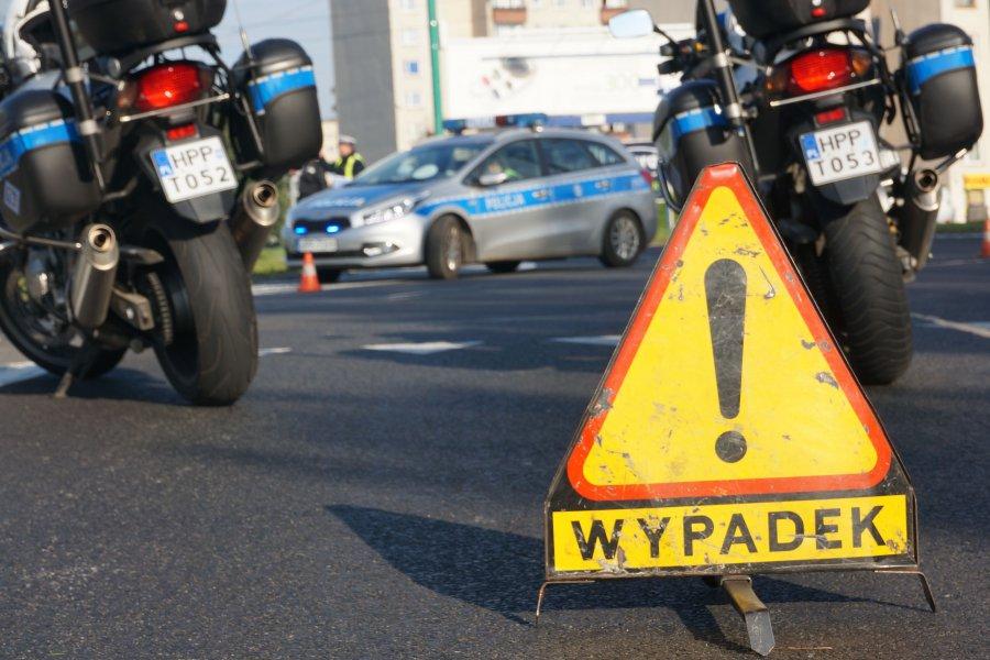 Tragiczny wypadek! Nie żyje motocyklista.