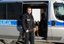 """""""Aro"""" nowy pies tropiący w rawickiej Policji"""
