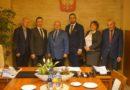 Nowy Tomyśl: Burmistrz z gratulacjami u nowych władz powiatu