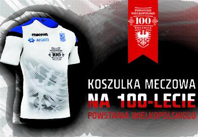 KKS Lech Poznań: Koszulka meczowa na 100-lecie Powstania
