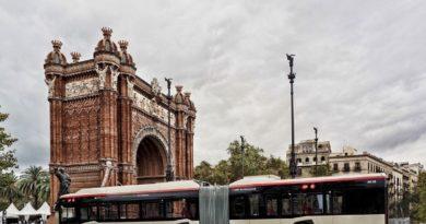 Elektryczne Solarisy w Barcelonie