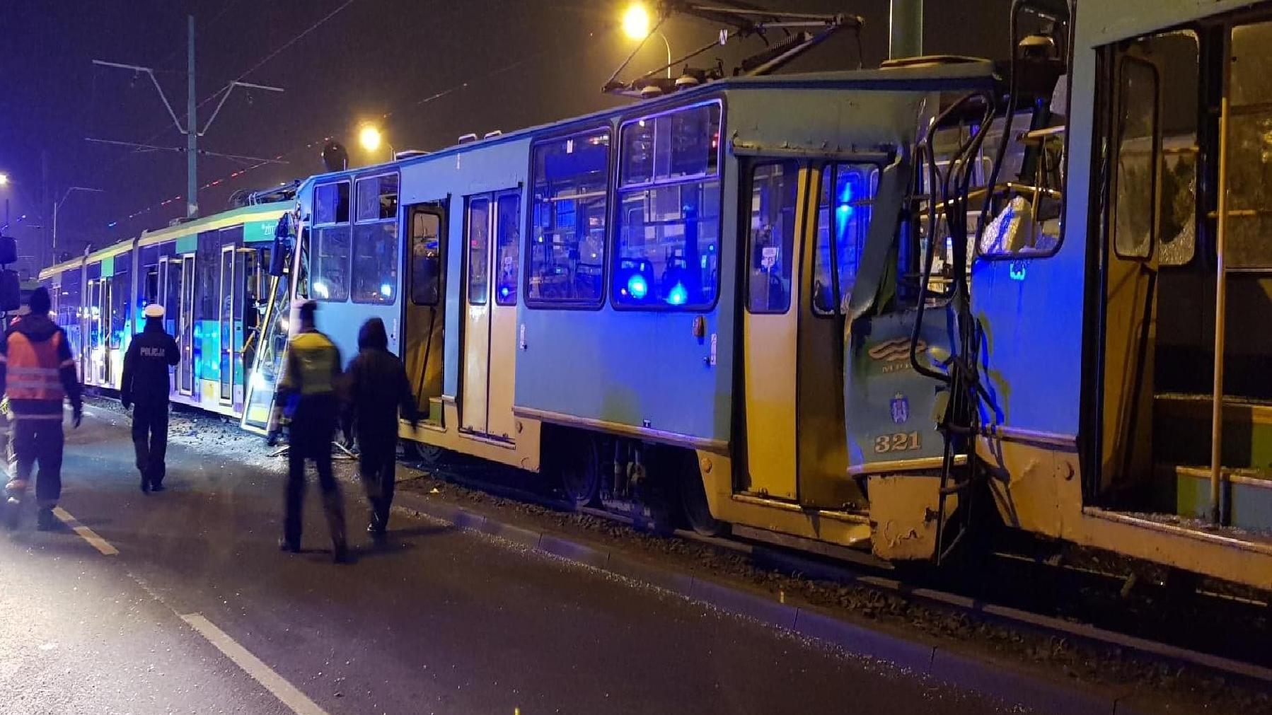 Śledztwo w sprawie zderzenia tramwajów w Poznaniu