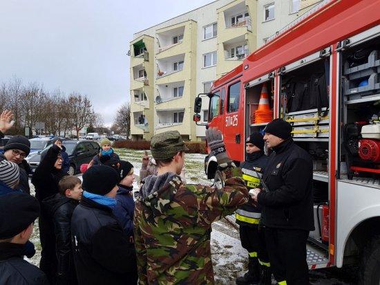 """Nowy Tomyśl – Strażacy na """"Zimowych podchodach"""""""