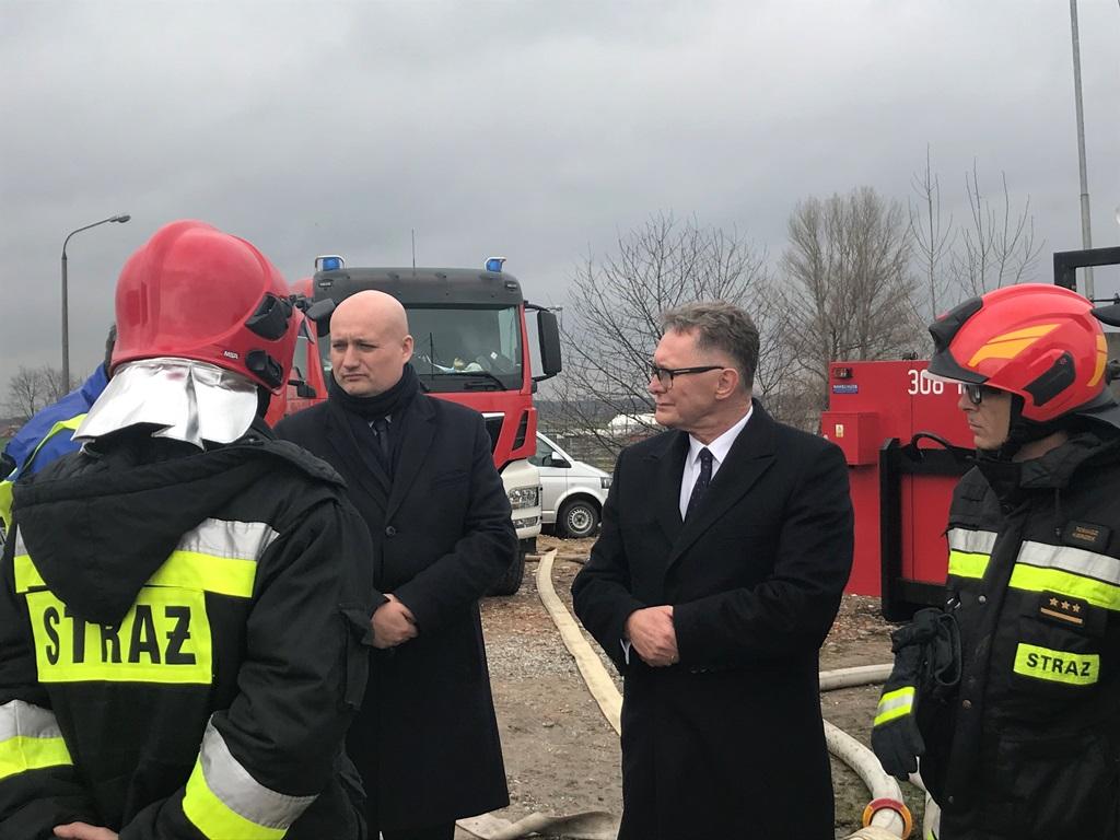 Pysząca - wojewoda wielkopolski wnioskuje o wsparcie wojska