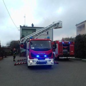 Nowy Tomyśl - Chciał oczyścić komin metodą wypalania