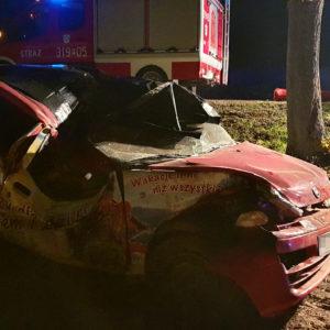 Śmiertelny wypadek w okolicach Buku! Droga zablokowana