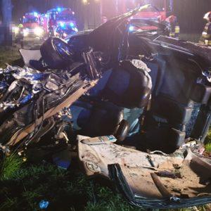 Tragiczny wypadek na DW 307 pomiędzy Bukiem a Wojnowicami!