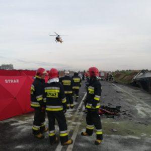 Kolejna tragedia na DK 5! Wwyniku zderzenia auta osobowego zciężarowym zginął 28-letni mężczyzna. [AKTUALIZACJA]
