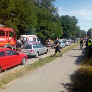 Tragiczny wypadek z udziałem motocyklisty! Nie żyje 25-letni mężczyzna!