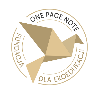 Fundacja One Page Note