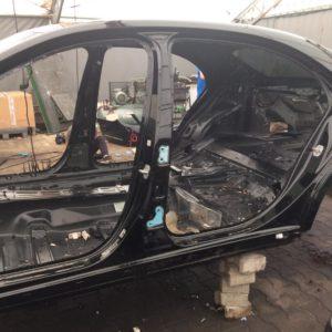 Policjanci odzyskali,  wartego 300 tysięcy złotych, skradzionego mercedesa