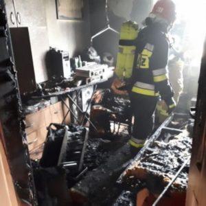 Telefon komórkowy przyczyną groźnego pożaru