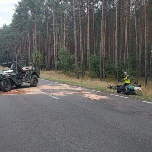 Tragedia na drodze. Zginął 27-letni motocyklista