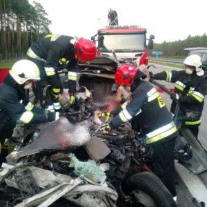 Nowy Tomyśl - Dramat rozegrał się na 104 kilometrze autostrady A2