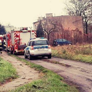 Kolejny pożar w Starym Tomyślu. Troje małych dzieci trafiło do szpitala