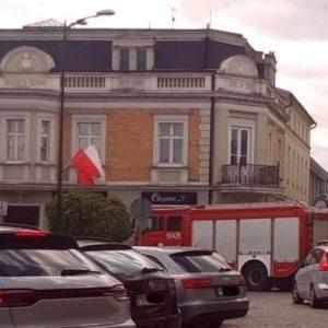 Nowy Tomyśl: Akcja Straży Pożarnej na Pl. Chopina [FILM]
