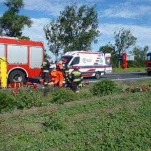 Tragiczny wypadek z udziałem motocyklisty. Nie żyje 36-letni naukowiec
