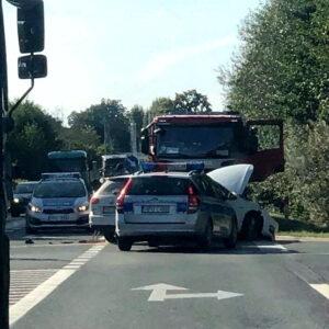 Nowy Tomyśl: Wypadek na obwodnicy,  dziecko trafiło do szpitala - UTRUDNIENIA