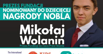 Wielkopolanin nominowany do Dziecięcego Nobla