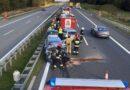 Groźne zdarzenie na A2 podczas prac drogowych