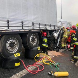 Bardzo groźny wypadek na obwodnicy Lwówka