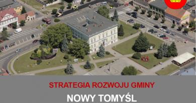 Konsultacje społeczne w sprawie Strategii Rozwoju Gminy Nowy Tomyśl na lata 2021-2030
