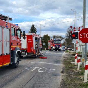 Tragiczny wypadek na przejeździe kolejowym! Nie żyje 35-letni mężczyzna