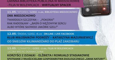 Miedzichowo-Zaprasza na Tydzień Bibliotek 2021