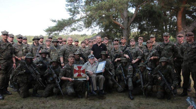 Żołnierze uczcili setne urodziny gen. Jana Podhorskiego
