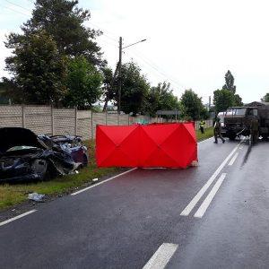 Tragiczny wypadek! Ciężarowy STAR, którym podróżowały 4 osoby zderzył się z BMW