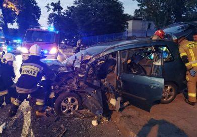 Dwa wypadki komunikacyjne w krótkim czasie, cztery osoby poszkodowane
