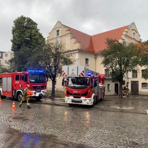 NOWY TOMYŚL: Akcja Straży Pożarnej w Kościele [ZDJĘCIA]