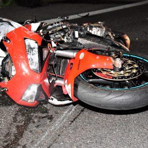 Tragiczne zderzenia motocykla z autem ciężarowym