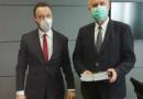NOWY TOMYŚL: Burmistrz z wizytą u Marszałka