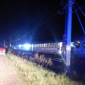 Śmiertelne potrącenie przez pociąg