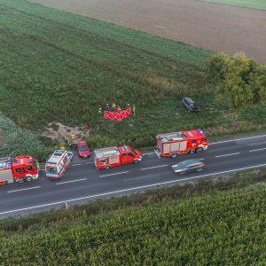 Tragiczny wypadek na drodze krajowej nr 15