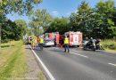 Śmiertelny wypadek motocyklisty na DK 15